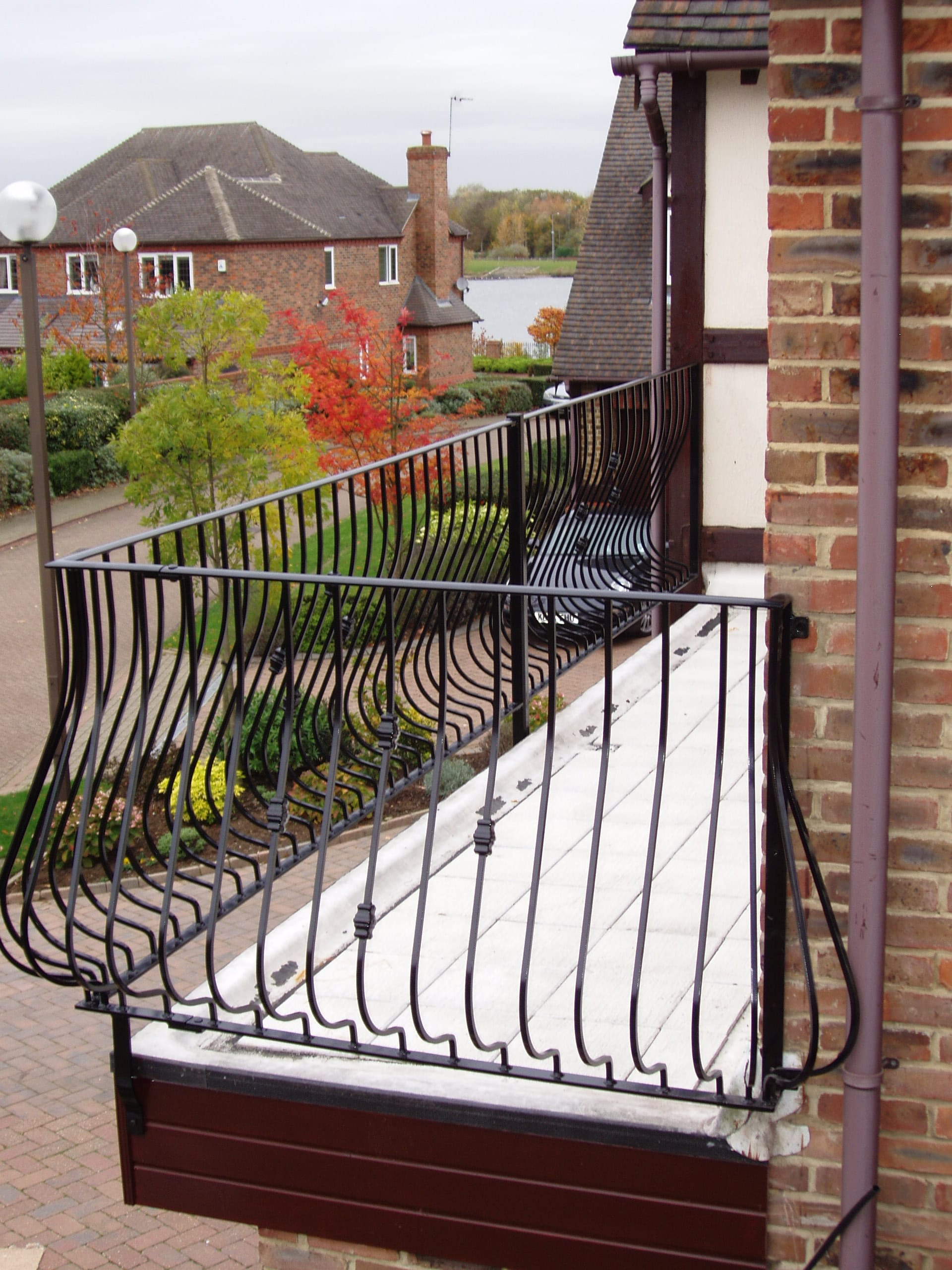 Wall Top Railings In Guildford
