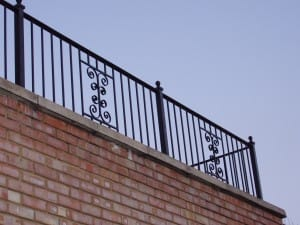 Wall top Balcony Railing