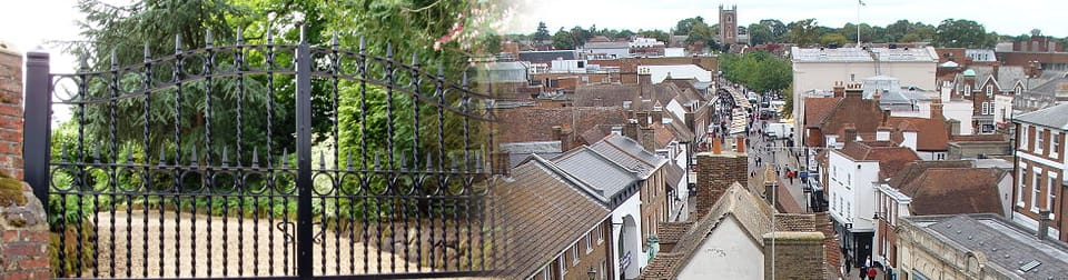 Wrought Iron Gates, St Albans & Harpenden