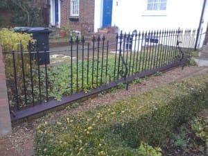 Replica Railings in Historic St Albans